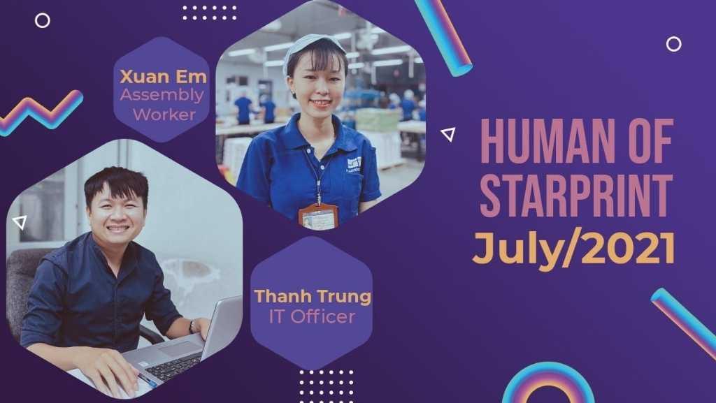 human of starprint, july 2021