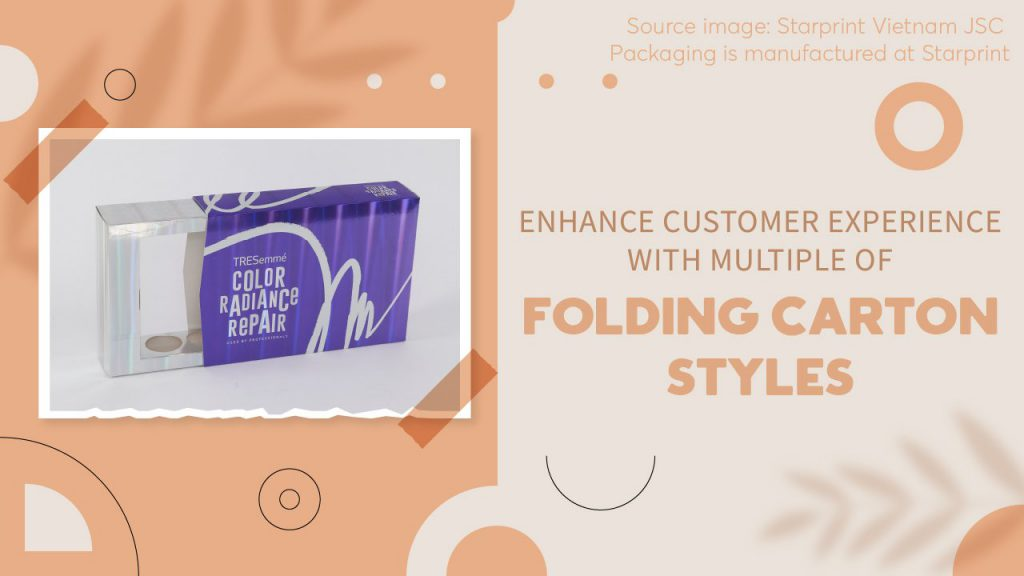 enhance customer experience with multiple folding carton styles