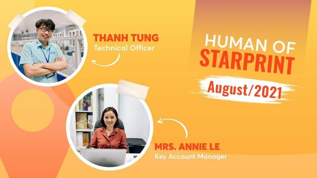 humans of starprint staff group