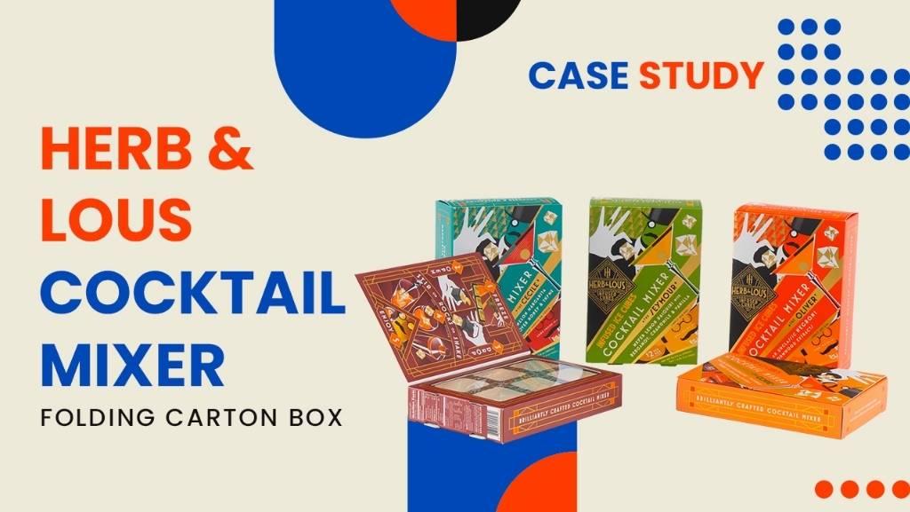 H&L Cocktail Mixer Folding Carton Box