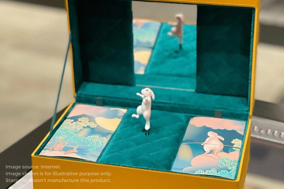 gucci luxury rigid box