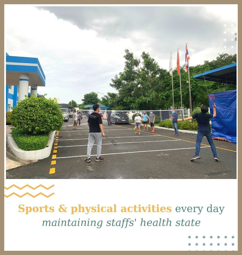 sports & physical activities maintaining health state